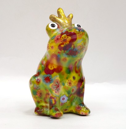 Копилка Pomme-Pidou Царевна Лягушка, мини, зелёный 9x8.5x14см 148-00247/C