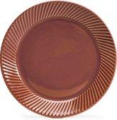 Тарелка SagaForm Coffee & More 20см, коричневая 5018103