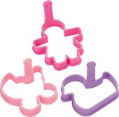 Универсальные формочки для девочек Tescoma DELICIA Kids 630950