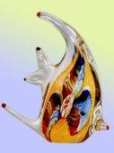 Фигурка Оранжевая скалярия 19.5x21см Top Art Studio ZB1971-TA