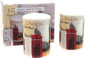 Солонка и перечница Новый Лондон, 7см The Leonardo Collection LP99770