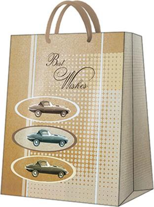 Пакет подарочный Машины 26.5x33.5x13см Paw AGB1001205