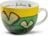 Чашка для завтрака EGAN Любовь и фантазия Зеленая, 600мл PAF03/1V