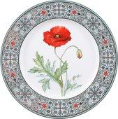 Тарелка декоративная ИФЗ Европейская-2, Мак восточный, 270мм 80.99046.00.1