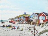 Доска разделочная стеклянная Lesser & Pavey Солнечный Пляж 40x30см LP94215