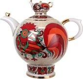 Чайник заварочный доливной Красный петух, ИФЗ Семейный 80.00773.00.1