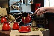 Турка для кофе керамическая 0.5л, шоколад Ceraflame IBRIKS D9375