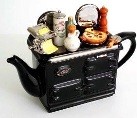 """Чайник коллекционный """"Итальянский завтрак"""" (Italian Aga Teapot) The Teapottery 4405"""