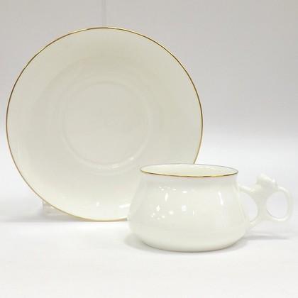 Чашка с блюдцем Золотой кант, ф. Билибина ИФЗ 81.16744.00.1