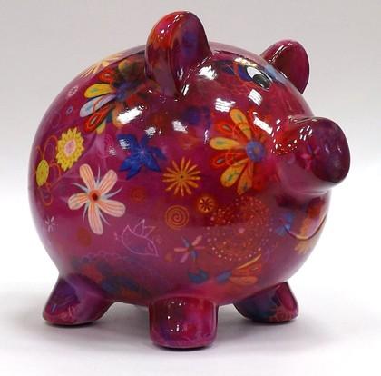 Копилка Свинья PEGGY фуксия Pomme-Pidou 148-00025/6