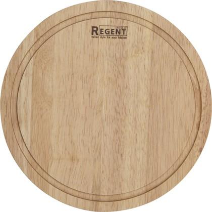 Доска разд. круглая 24х24х1.2см Bosco Regent Inox 93-BO-1-01