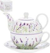 Чайник на одного Lesser & Pavey Лаванда, 3пр. LP94060