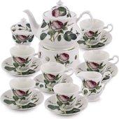 Чайный сервиз 16 пр. Роза Редаут Roy Kirkham XROSA1135BOXED
