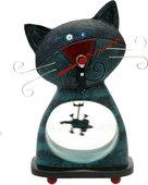 Часы настольные Кошки-мышки (Cat & Mouse), 24см Enesco C102