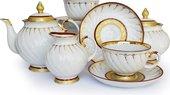 Сервиз чайный 15 предм. Золотое кольцо Дулёвский фарфор ДС690