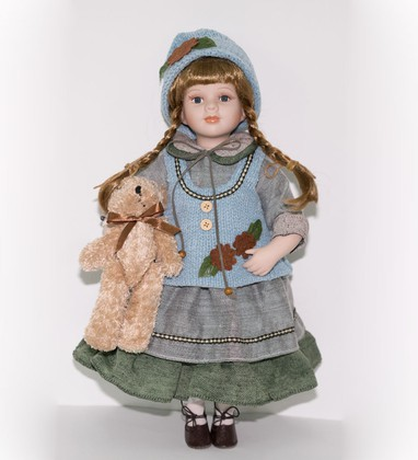 Кукла фарфоровая Top Art Studio Мелисса 41см WS2253-TA
