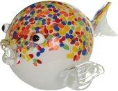 Фигурка стеклянная Top Art Studio Рыба фугу 23см ZB2633-AG