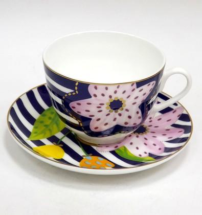 Чашка с блюдцем Букет для Веры Весенняя-2 ИФЗ 81.25982.00.1