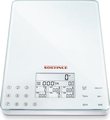 Весы электронные кухонные 5кг/1гр Soehnle Food Control Easy 66130