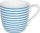 Кружка Koenitz Линии 425мл, голубой 11 2 057 2338