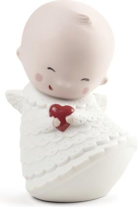 Статуэтка фарфоровая NAO Маленький Ангел (Little Angel) 10см 02005075