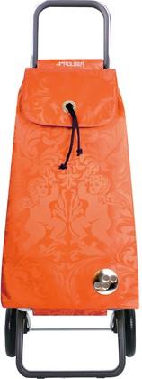 Сумка-тележка хозяйственная оранжевая Rolser LOGIC RG PAC036mandarina
