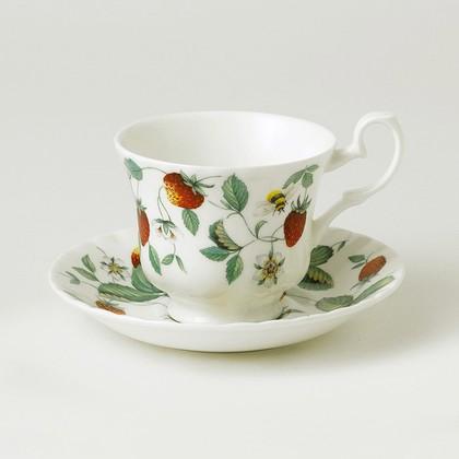 Чайная пара Альпийская Земляника 230мл Roy Kirkham XALP1130