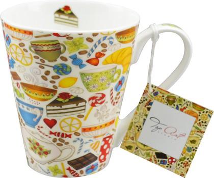 Кружка Top Art Studio Утренний чай, 400мл HK1122-TA
