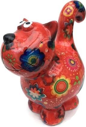 Копилка Pomme-Pidou Кошка Dorothy красная 148-00240/3