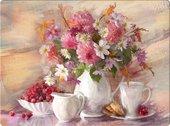 Подставки под тарелки на стол Top Art Studio Летний чай 40x29см, 4шт, пробка GD2525-TA