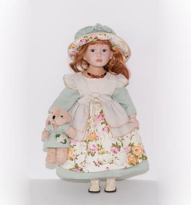 Кукла фарфоровая Top Art Studio Скарлетт 56см WS2244-TA