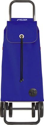 Сумка-тележка хозяйственная синяя Rolser LOGIC DOS+2 IMX005azul