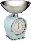 Весы кухонные KitchenCraft механические Living Nostalgia blue LNSCALEBLU