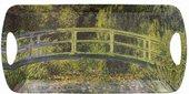 Поднос средний Lesser & Pavey Моне Пруд с водяными лилиями, 41x21см LP94450A