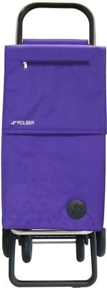 Сумка-тележка хозяйственная фиолетовая Rolser QUATTRE.2 SBE001more