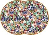 Тарелка Lesser & Pavey Золотая Лилия, 2шт, 19см LP94287