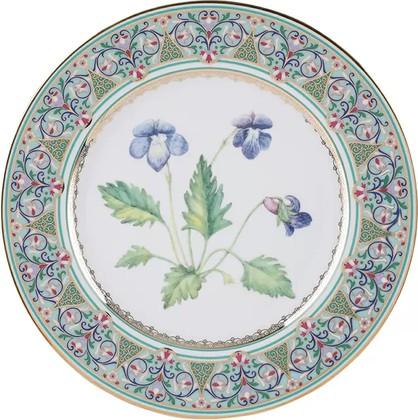 Тарелка декоративная ИФЗ Европейская-2, Фиалка надрезанная, 270мм 80.99048.00.1