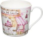 Кружка Rose of England Уличное кафе - розовое чаепитие, 415мл DOR.SC.2