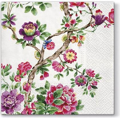 Салфетки для декупажа Японский сад, 33x33, 20шт Paw SDL090500
