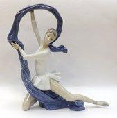 Статуэтка фарфоровая Танцовщица с вуалью (Dancer with Veil) Специальное издание 34см NAO 02001699
