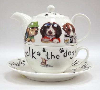 Чайный набор Собаки модники Roy Kirkham XANIDOG1201