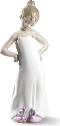 Статуэтка фарфоровая NAO Девочка в пижаме (Bunny Sleepers) 25см 02000528