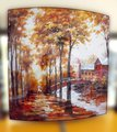 Картина Осенний пейзаж 58x58см, пара Top Art Studio WDP0871-TA