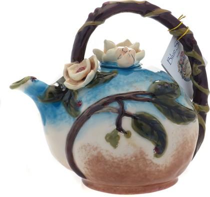 Чайник заварочный Божья коровка 22х14х19см Blue Sky 13001