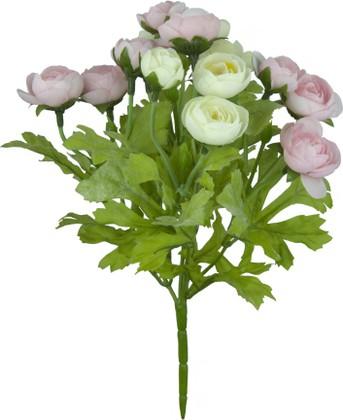 """Цветок искусственный """"Ранункулус сиреневый"""" 22см Floralsilk 12490P-CR"""