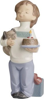 Статуэтка фарфоровая Сегодня мой день (Birthday Buddies) 17см NAO 02001546