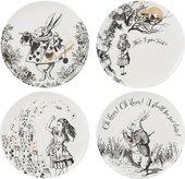 Тарелка Creative Tops V&A Алиса в стране чудес, 20см, 4шт 5200020