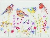 Доска стеклянная Lesser & Pavey Садовые птички, 40x30см LP46850
