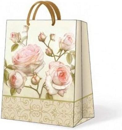 "Paw BEAUTY ROSES Пакет подарочный ""Романтичная роза"", 20x25x10см, артикул AGB014803"