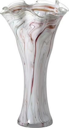Ваза из цветного стекла Jozefina Перламутр, 55см 10-205-600-09I